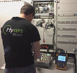 Power Quality measurement by HyTEPS expert