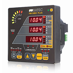 SATEC PM130EH Plus Energymeter Power Meter